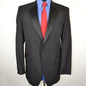 Fumagalli Uomo 40R Tuxedo Jacket Black Wool